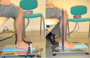 MyoAnkle - Dynamomètre pour l'évaluation de la force de flexion et d'extension de la cheville