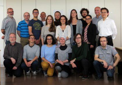 2016 - Equipe du labo RMN de l'Institut de Myologie
