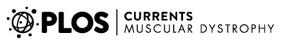 PLOS Currents muscular dystrophy