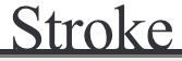 Stroke logo